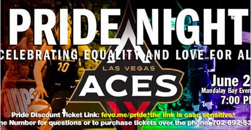 Las Vegas ACES – PRIDE Night! | Equality Nevada